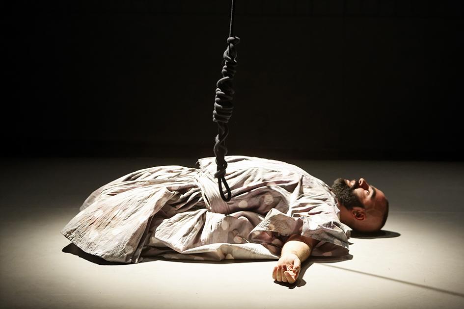 I lived my myth in Greece, Manolis Tsipos, Frascati Theater