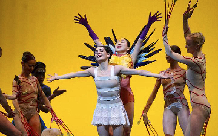 Broken Wings. She Said. English National Ballet